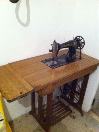 máquina de custura singer antiga!