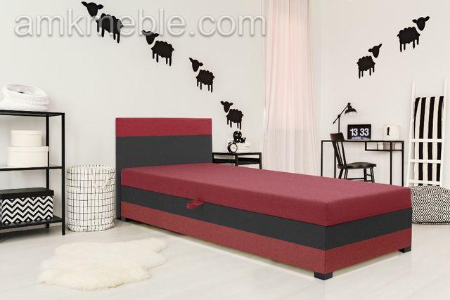 Tapczan, łóżko pojedyncze, materac+pojemnik w cenie szybka wysyłka!