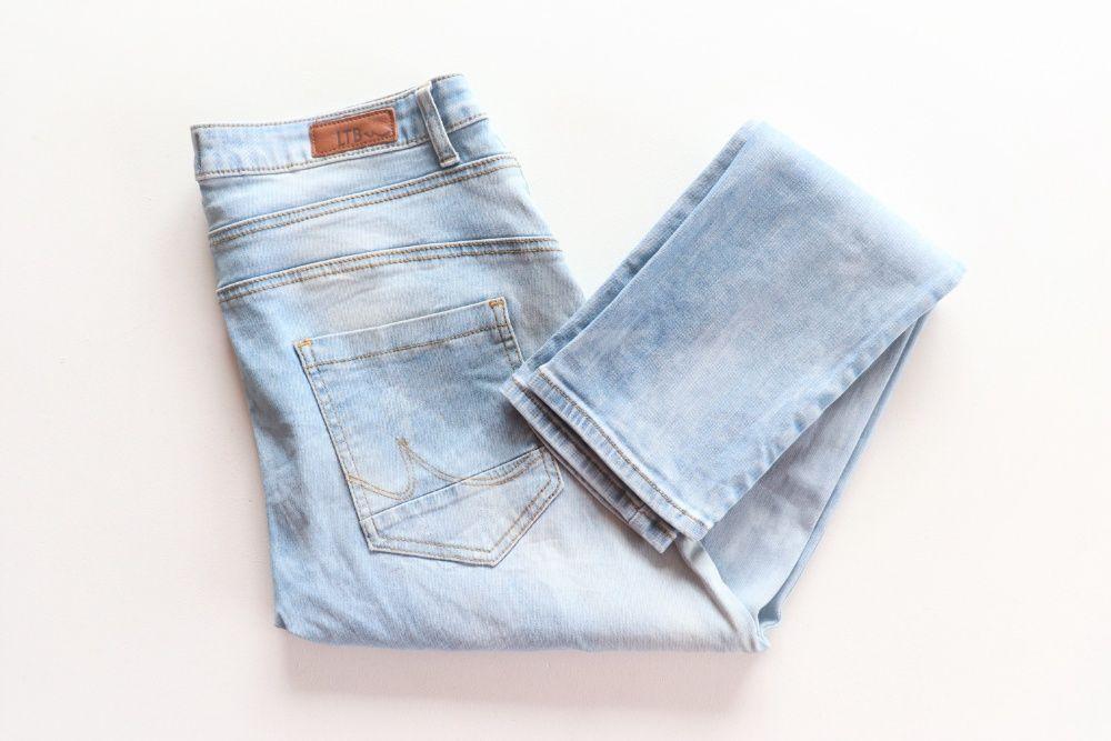 Luksusowe męskie spodnie jeansowe LTB W32 L34 r.28