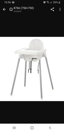 Cadeira de papa ikea c/forra