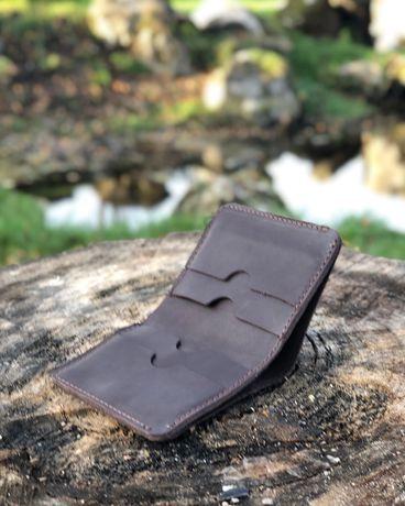 Мужское портмоне кожа/мужской кошелек/гаманець/бумажник