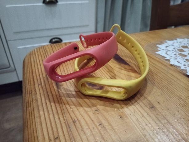 Opaska silikonowa do Miband 2 miband 3 mi band xiaomi żółta