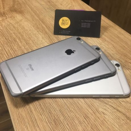 Айфон iPhone 6 и 6s Space Gray Silver Rose Gold 16/32/64/128Gb б/у 6с