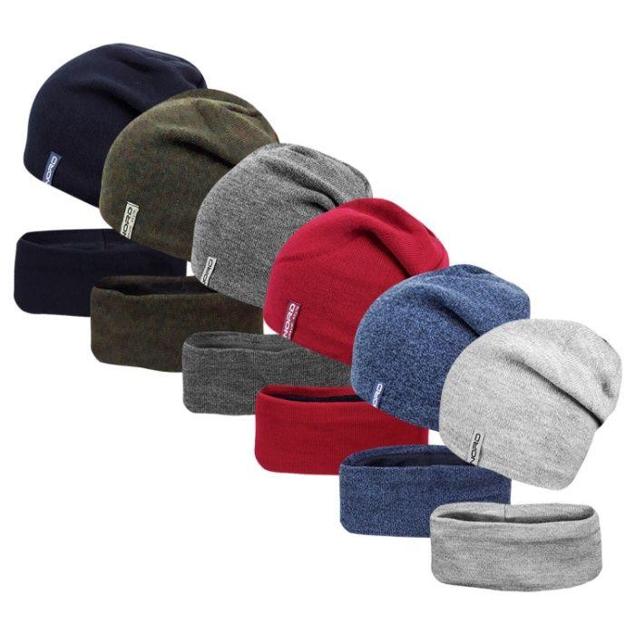 Комплект на флисе шапка с хомутом Дакота ог.53-57см Хмельницкий - изображение 1