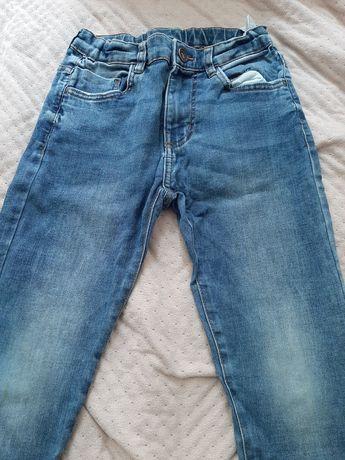 Zara jeansy chłopięce 9 lat