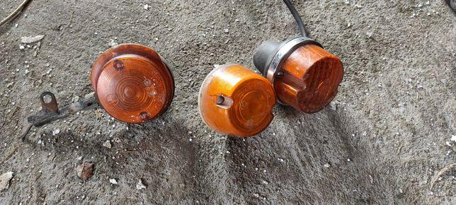 Stare zabytkowe lampy kierunkowskazy wsk prl antyk