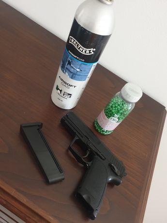 Pistola de airsoft negociavel