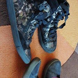 Sneakersy wysokie buty super fit richter 31