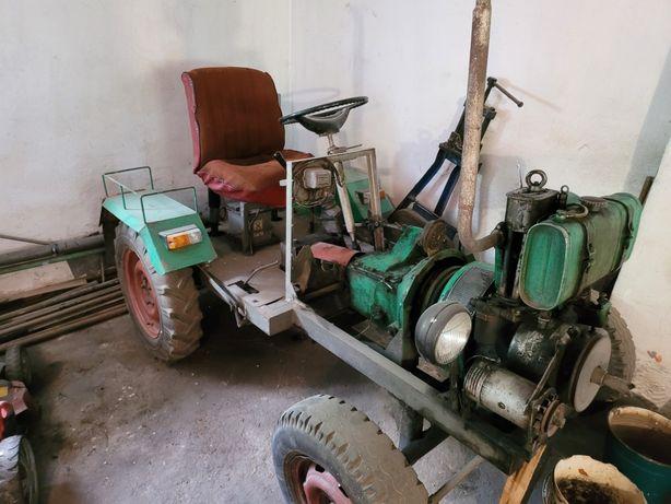 Traktorek Sam 6.5km po remoncie