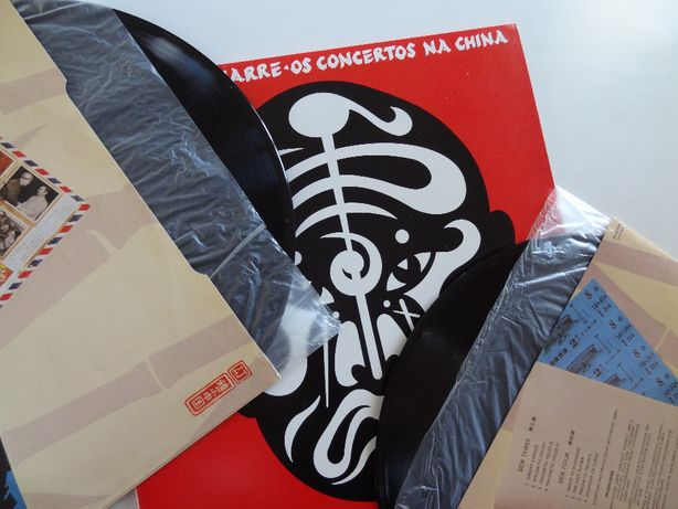 JARRE, Jean-Michel – Os Concertos na China | Vinil . 2 Lp's