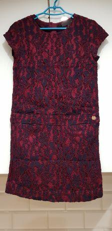 Koronkowa sukienka jbc roz.122 cm.