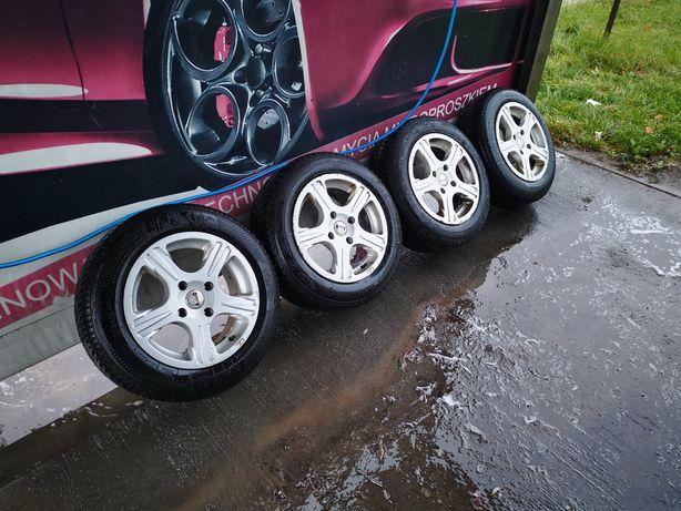 Piękne Felgi 15 4x114,3 Nissan Honda Nowe Opony Zimowe