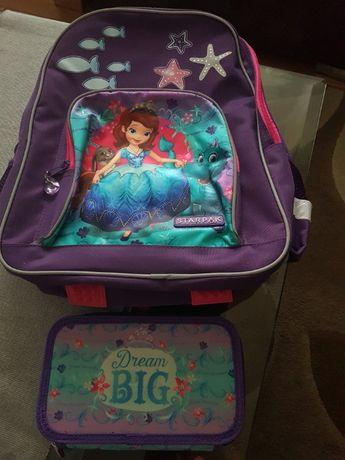 Plecak szkolny księżniczka Zosia