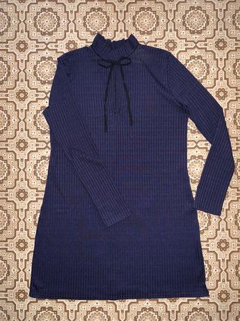 Платье с длинным рукавом boohoo