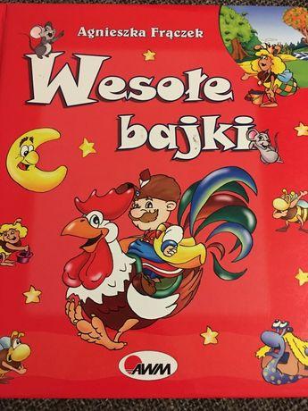 Ksiazka dla dzieci Wesole Bajki prawie nowa