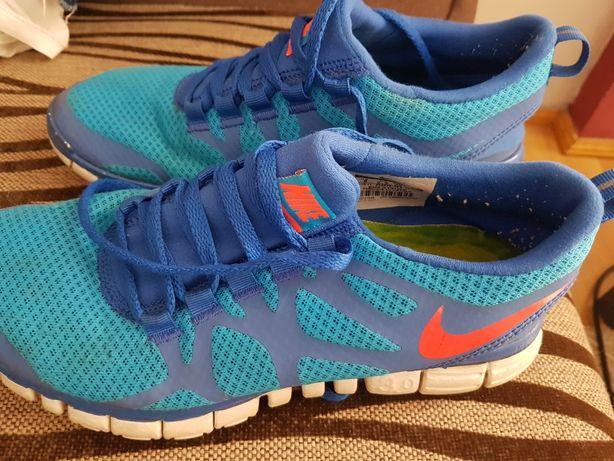 Lekkie buty niebieskie nike