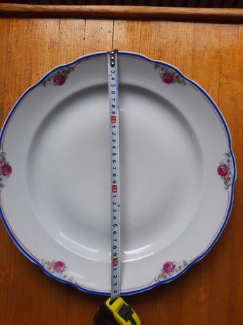 Блюдо Дулево агитационное ссср 20 годов.
