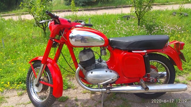Ява, старушка 350 1973г