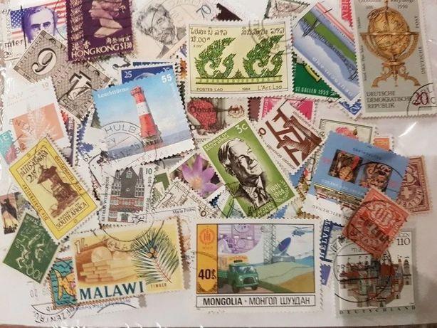 Lote de 250 Selos - Todo o Mundo