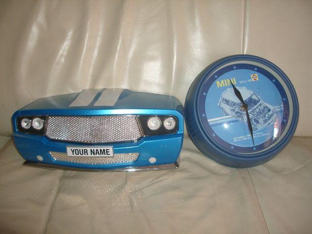 Samochód lampka 3D deco lights+zegar