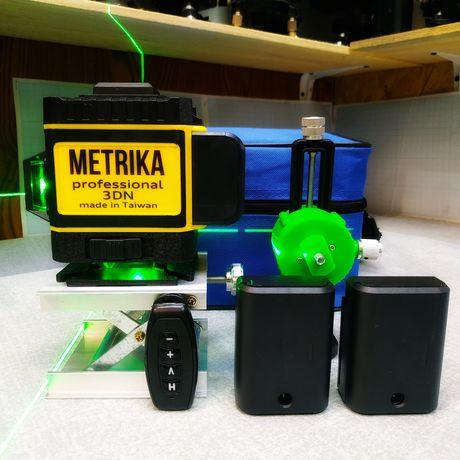 Лазерный уровень Metrika 3D (2*360) Taiwan (Полная комплектация)