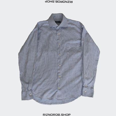Piattelli рубашка made in Italy eton Burberry