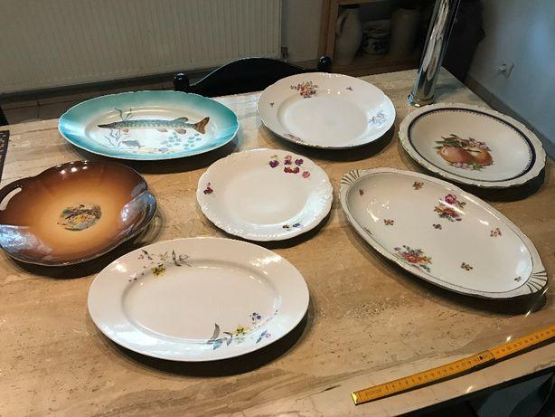 Zestaw porcelanowych półmisków na ciasta Chodzież Karolina Ćmielów
