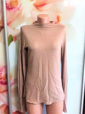 Красивый женский свитер водолазка джемпер бренд zara