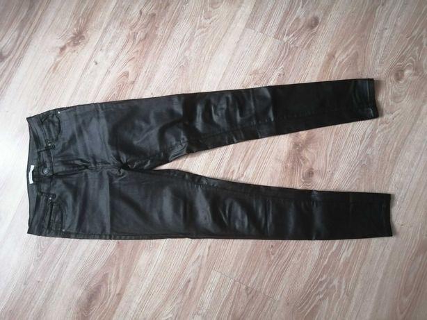 Woskowane spodnie goodies push up S/M