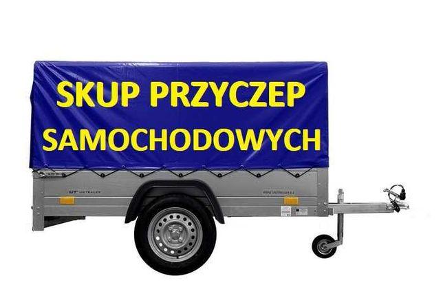 SKUP Przyczep Przyczepka samochodowa Skup Przyczepka Motocyklowa