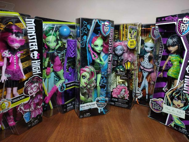 Monster high Монстер хай нові та б/в оригінал дуже багато у наявності