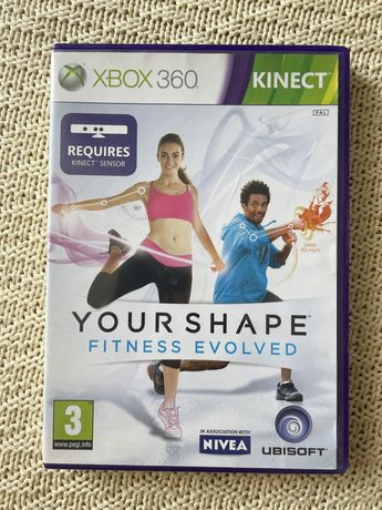 """Gra """"your shape fitness evolved"""" kinect Xbox 360"""