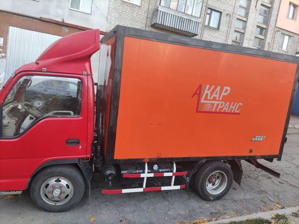 Грузоперевозки грузовичок jak