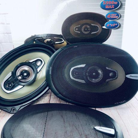 НОВЫЕ Pioneer Овалы Авто колонки Авто акустика Динамики 600W