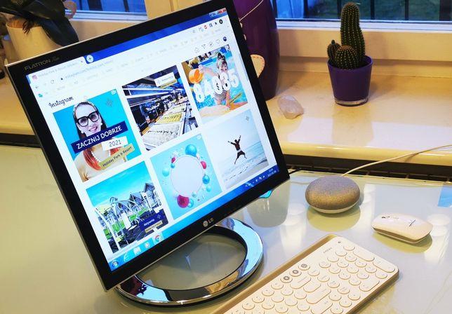 Stylowy i piękny monitor LG z unikalnej ekskluzywnej serii L1780Q