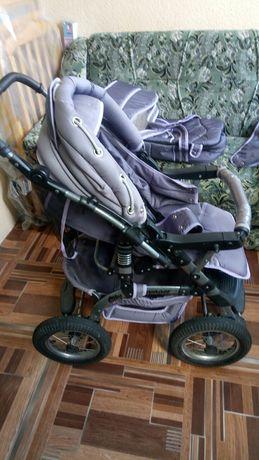 Детская коляска трансформер ТАКО от рождения до 3 лет