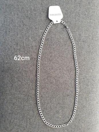 Łańcuszek naszyjnik męski stal nierdzewna 62cm