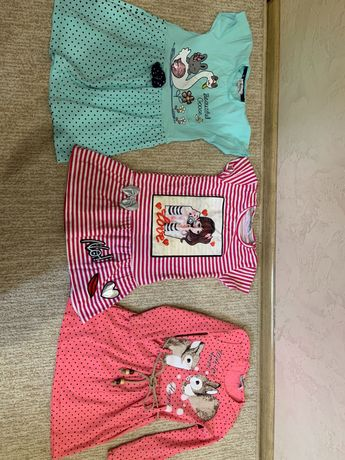 Одежда на девочку 2,3,4 годика
