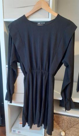 Vestido manga cumprida zara