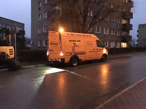Wuko Mikołów udrażnianie rur pogotowie kanalizacyjne inspekcja tv