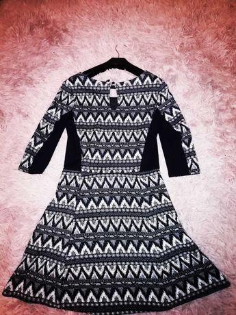 Sukienka wzorzysta od Divided/HM