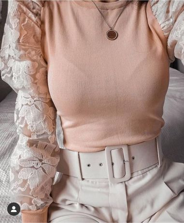Nowy sweterek Zara r.L