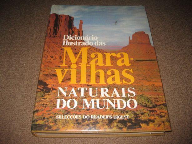 """Livro """"Dicionário Ilustrado das Maravilhas Naturais do Mundo"""""""