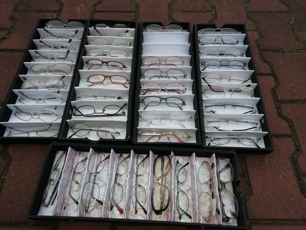 Oprawki okularowe - firmy NIGURA, CERUTI.