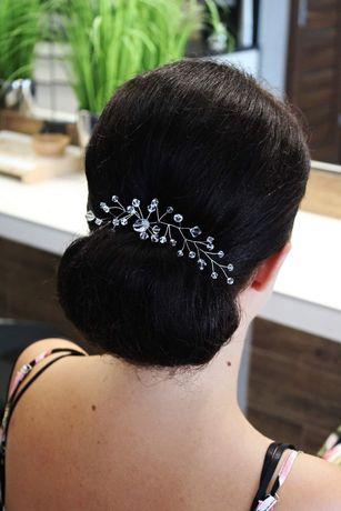 Ozdoba do włosów z kryształami Swarovskiego