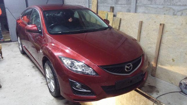 Mazda 6 GH 2.2 MZR 2011r Lusterko prawe lewe kolor 32v