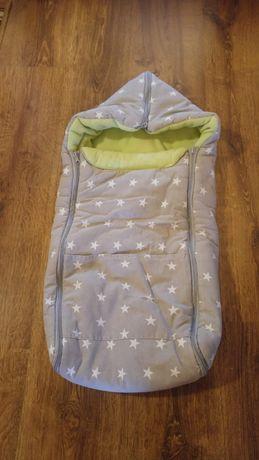 Śpiworek do gondoli / nosidła / fotelika samochodowego