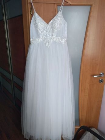 Suknia ślubna boho 38
