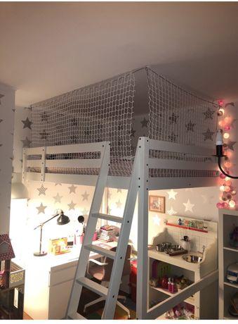 Siatka zabezpieczająca na łóżko piętrowe GAMNET