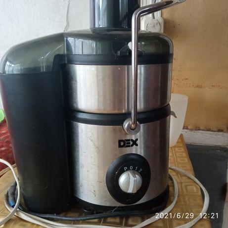 Продам соковыжималку DEX. В рабочем состоянии пользовались пару раз.